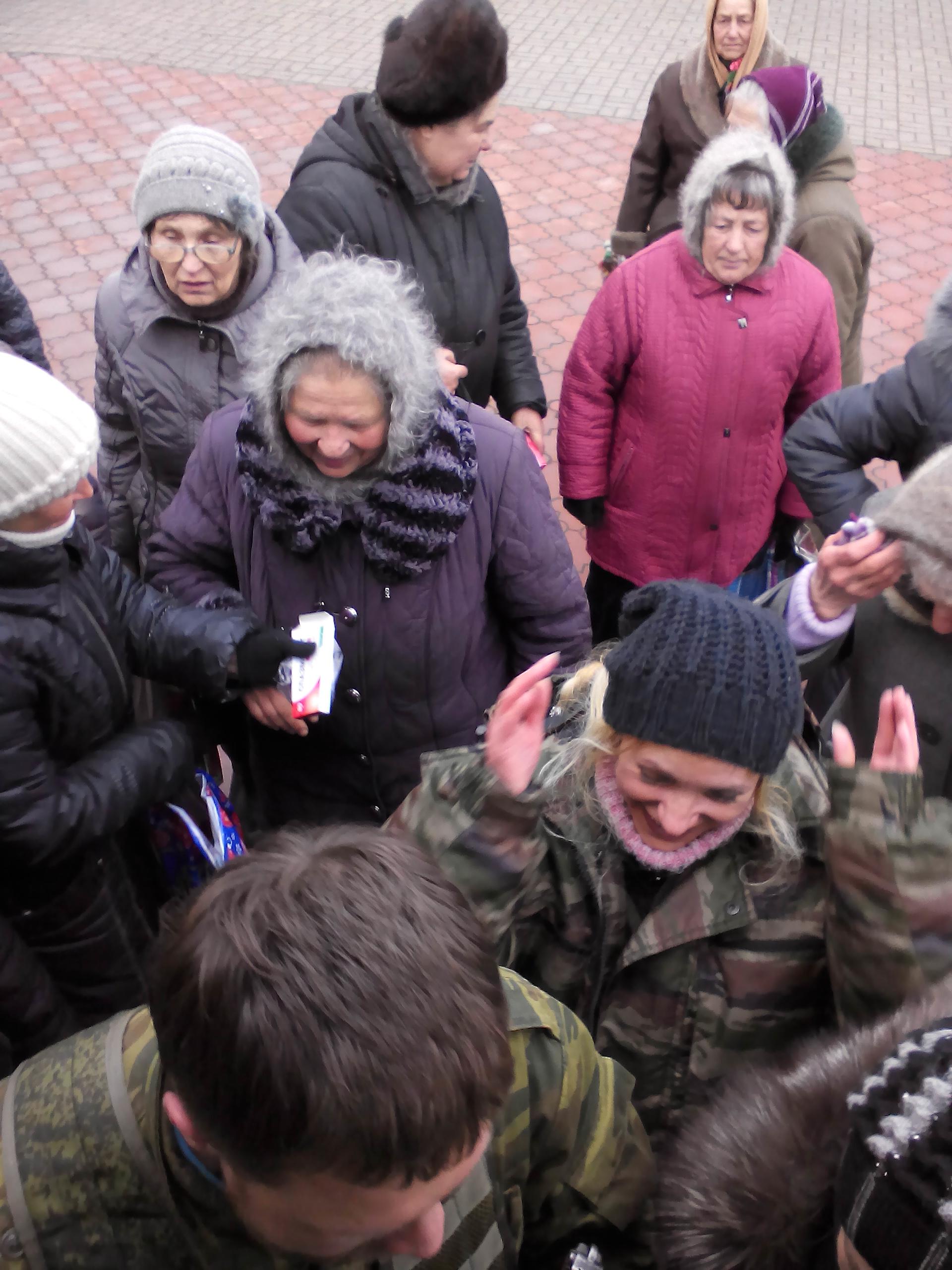 Да не оскудеет рука дающего!,  Помощь Новороссии, Гуманитарная помощь Новороссии